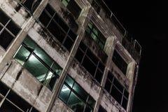 Dark building Stock Photos