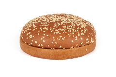 Dark bun for hamburger Royalty Free Stock Images