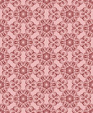 Dark burgundy pattern on a pink background Stock Photo