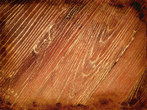 Dark burnt wood background Stock Photography