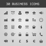 Business Design elements icon set Stock Images
