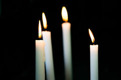 Dark Candles Royalty Free Stock Image