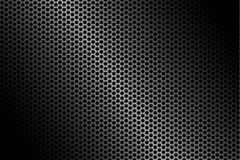 Dark carbon fiber background, stock vector illustration. Eps 10 stock illustration