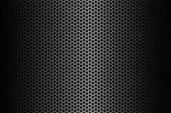 Dark carbon fiber background, stock vector illustration. Eps 10 Stock Images