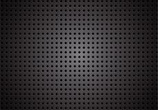 Dark carbon fiber macro background, stock vector illustration. Eps 10 royalty free illustration