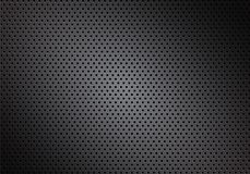 Dark carbon fiber macro background, stock vector illustration. Eps 10 stock illustration