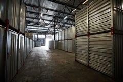 Dark cargo storage room Stock Images