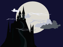 Dark Castle Stock Images