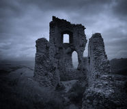 Dark Horror Castle Royalty Free Stock Image