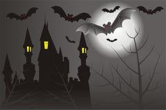 Dark castle Stock Image