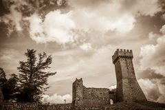 Dark castle Stock Photography