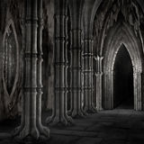 Dark cathedral Royalty Free Stock Photography