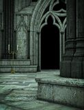 Dark Cathedral Stock Image