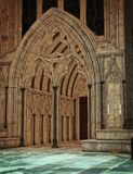Dark Cathedral royalty free stock photo