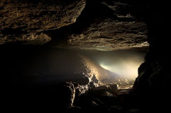 Dark cave Stock Photography