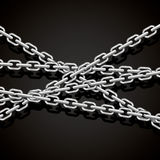 Dark chains. Full vector background royalty free illustration