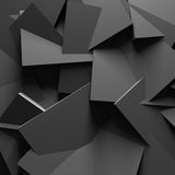 Dark Chaotic Design Texture Wall Background Royalty Free Stock Image