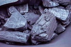 Dark charcoal Royalty Free Stock Photos