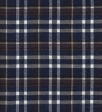 Dark checkered fabric Royalty Free Stock Images