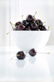 Dark cherries Stock Images