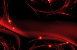 Dark cherry abstract fractal background. With lines Stock Images