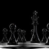 Dark chess Royalty Free Stock Photo
