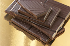 Dark chocolate Stock Photography