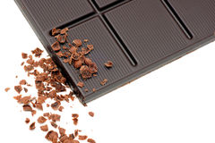 Dark chocolate. Stock Photos