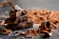 Free Dark Chocolate Royalty Free Stock Photos - 46773848