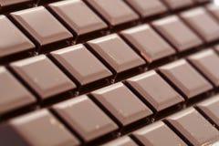 Dark Chocolate Bar Stock Photo