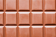 Dark chocolate bar as background Stock Photography