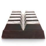Dark chocolate bar Royalty Free Stock Image