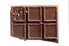 Dark chocolate bar Royalty Free Stock Photos