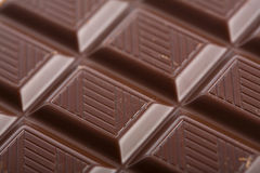 Dark chocolate block background royalty free stock images