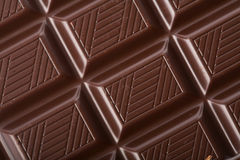 Dark chocolate block background Royalty Free Stock Image