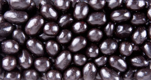 Dark chocolate candies Stock Photo