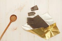 Dark chocolate Stock Photography
