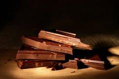 Dark chocolate Stock Images