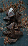 Dark Chocolate for Cooking Stock Photography