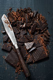 Dark Chocolate for Cooking Stock Image