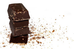 Dark Chocolate Royalty Free Stock Photography