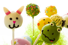 Easter cake pops Stock Images