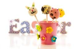 Easter cake pops Stock Photo