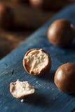 Dark Chocolate Malted Milk Balls Stock Photos