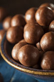 Dark Chocolate Malted Milk Balls Royalty Free Stock Image