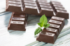 Dark chocolate Stock Images