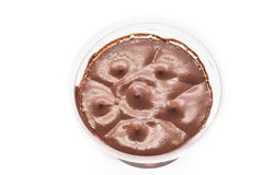Dark chocolate mousse Stock Image