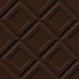 Dark chocolate pattern Stock Images