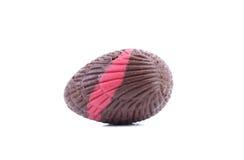 Dark chocolate seashell. Stock Image