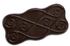 Dark chokolate coverd biscuit Royalty Free Stock Photo